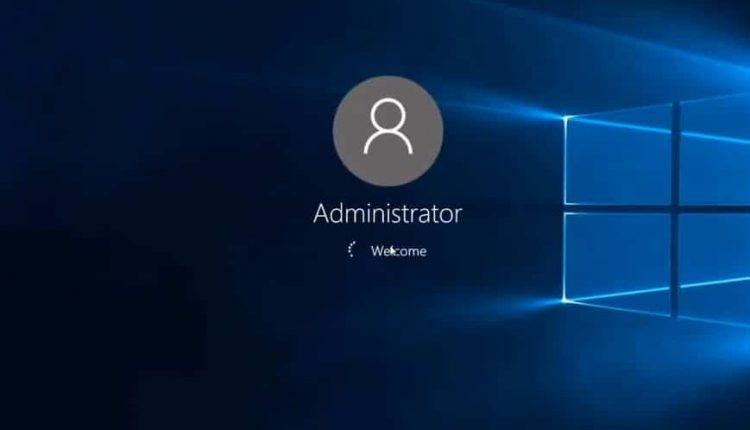 Windows 10'da Oturum Açma Ekranında Yönetici Hesabını Etkinleştirme veya Devre Dışı Bırakma
